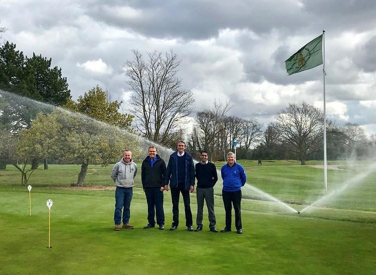 Irrigation At Bush Hill Park