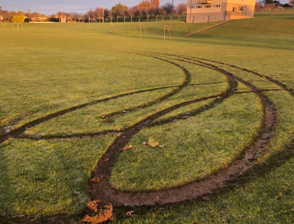 Football Club Bemoans Vandalism