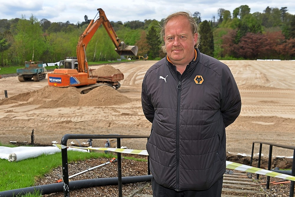 Wolves Install New Pitches