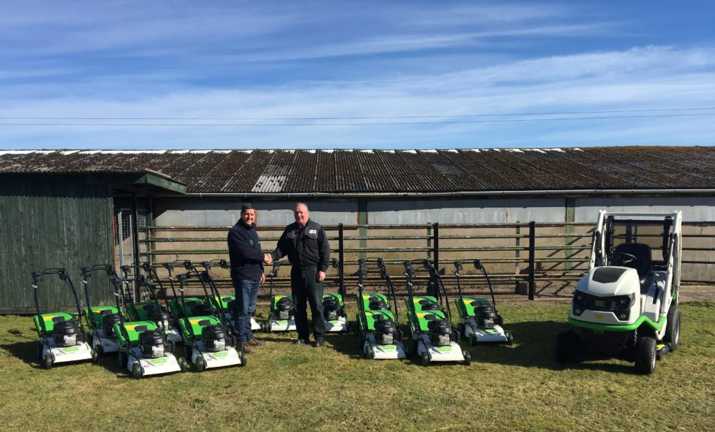 Greenfingers' New Etesia Fleet