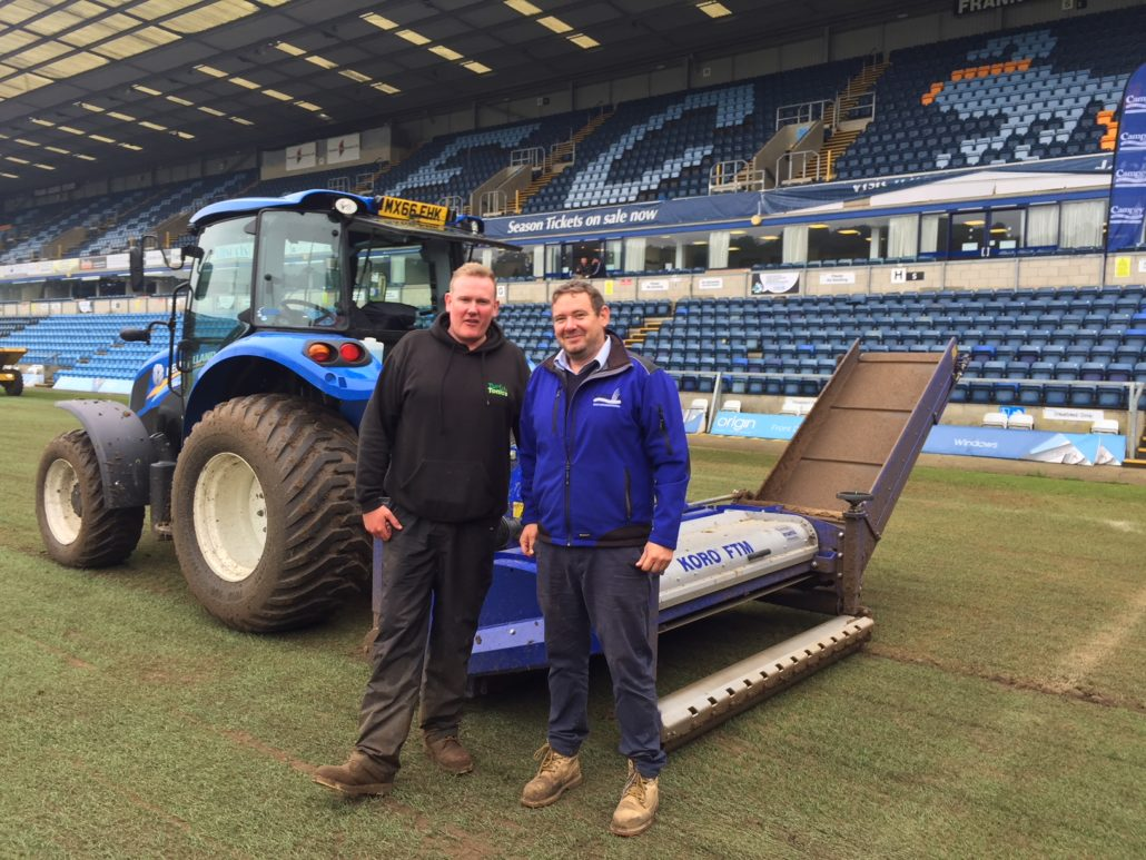 Pitch Renovations At Wycombe