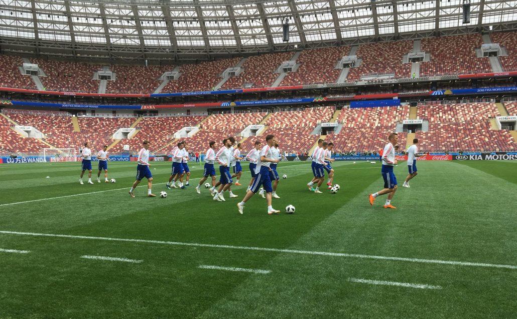 All Eyes On Luzhniki Stadium