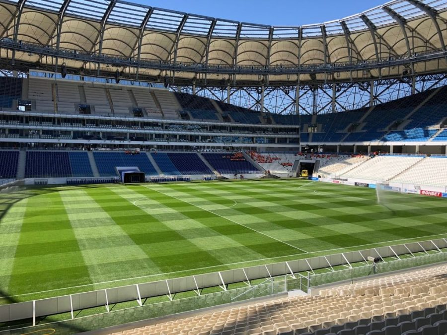 GrassMaster Takes Centre Stage At World Cup