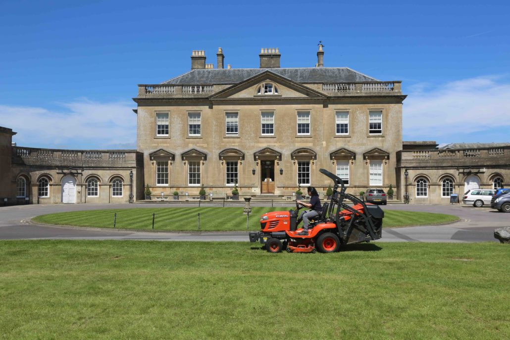 Kubota Makes The Grade In Bath