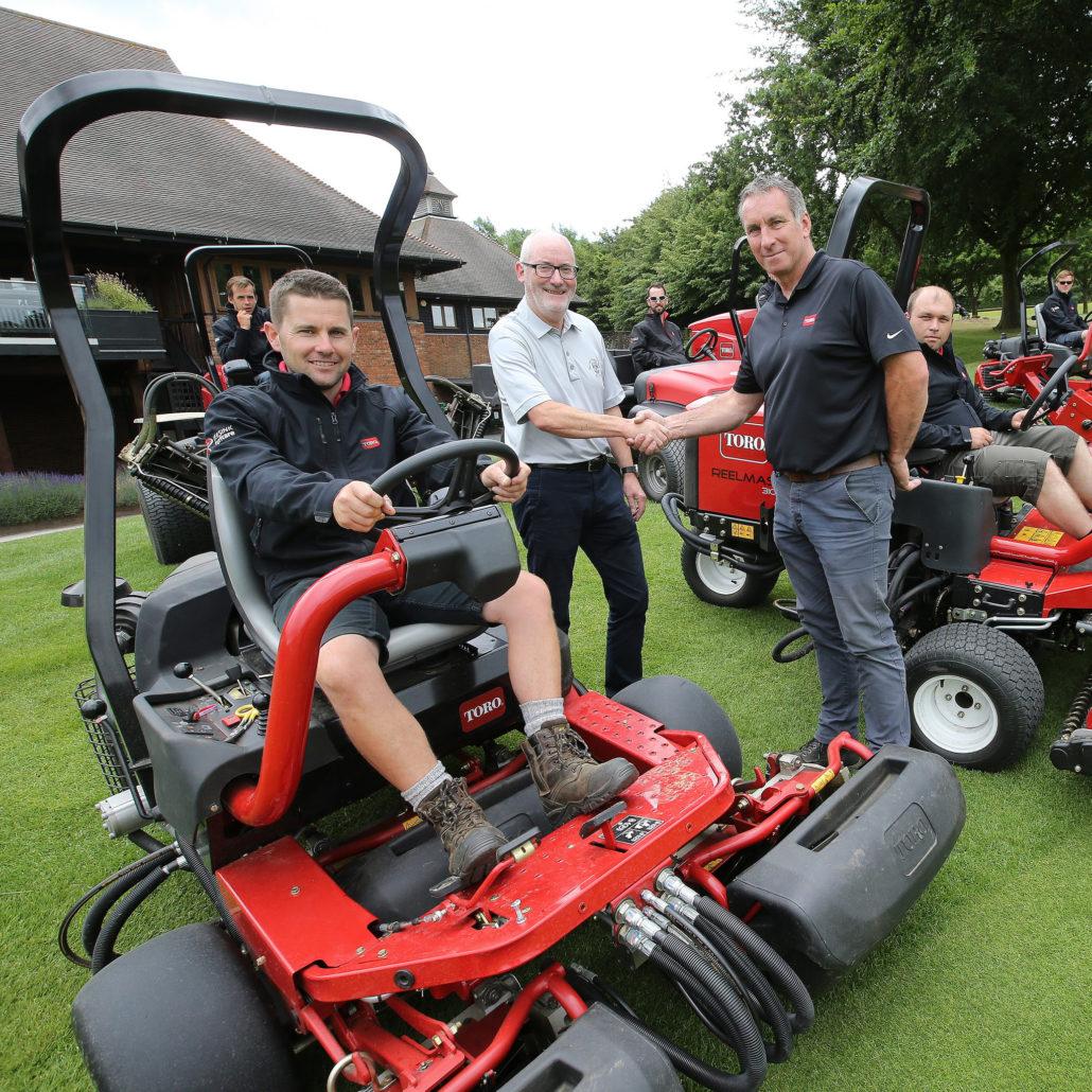 Golf Club Looks Forward With Toro