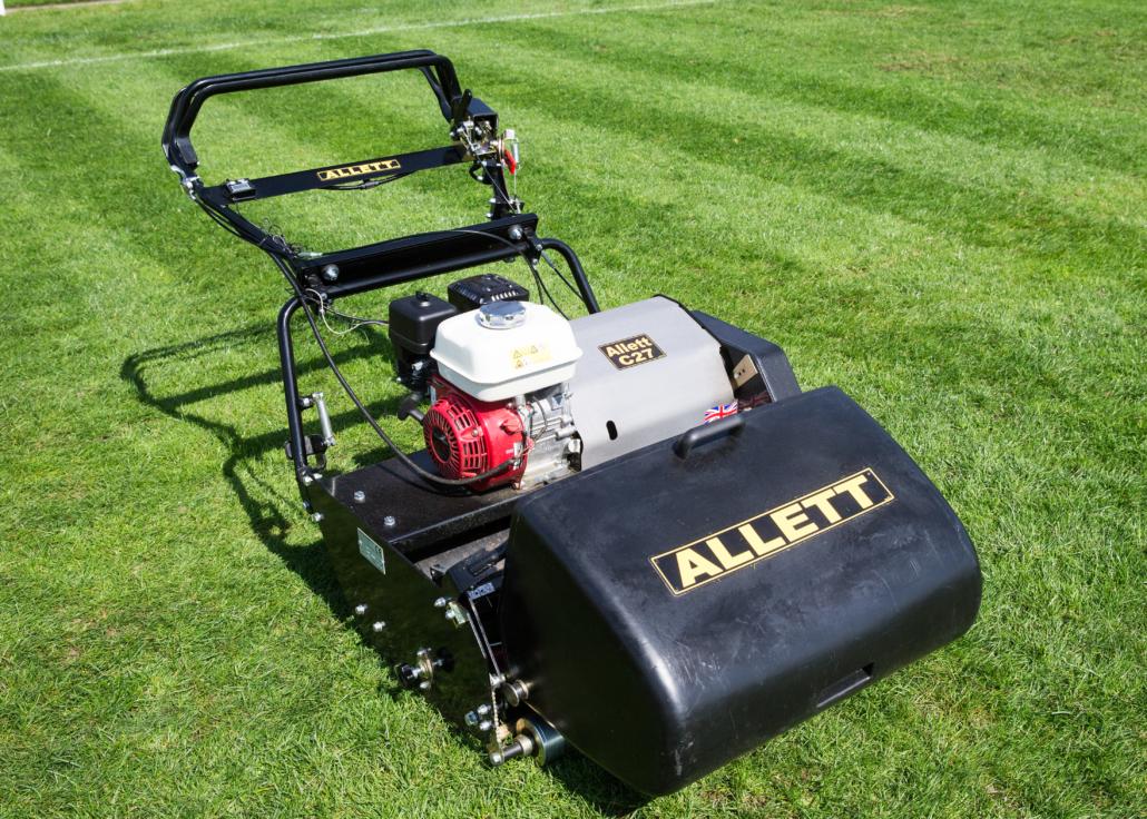 Allett's New C27 Cylinder Mower