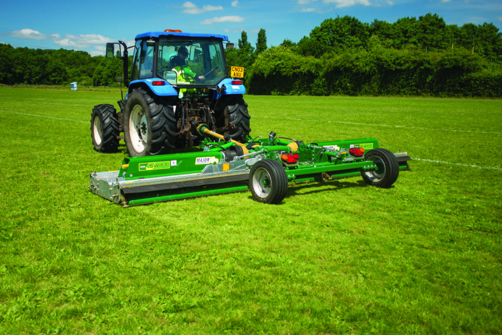 Major Upgrades For Swift Roller Mowers