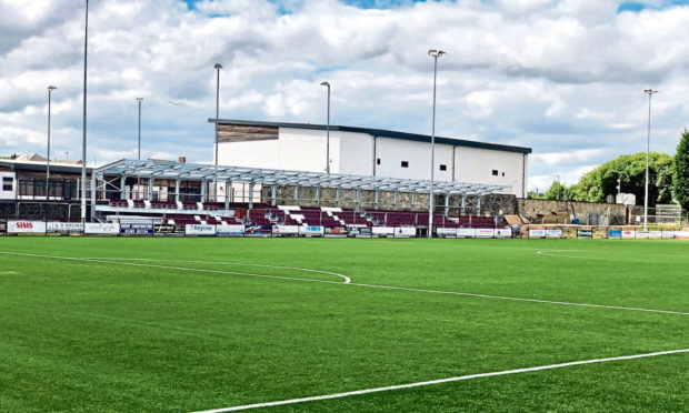 Artificial Pitch Burnt By Vandals