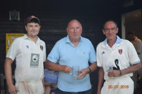 Cricket Groundsman 50 Not Out