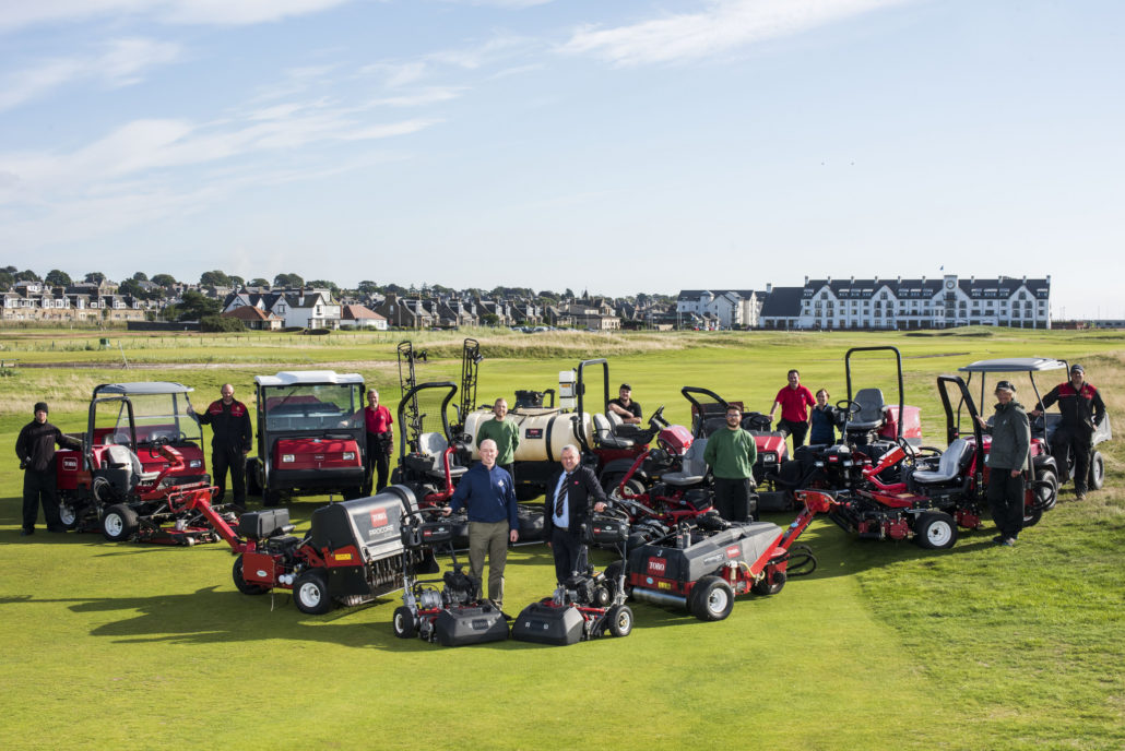 Toro's Great Results At Carnoustie