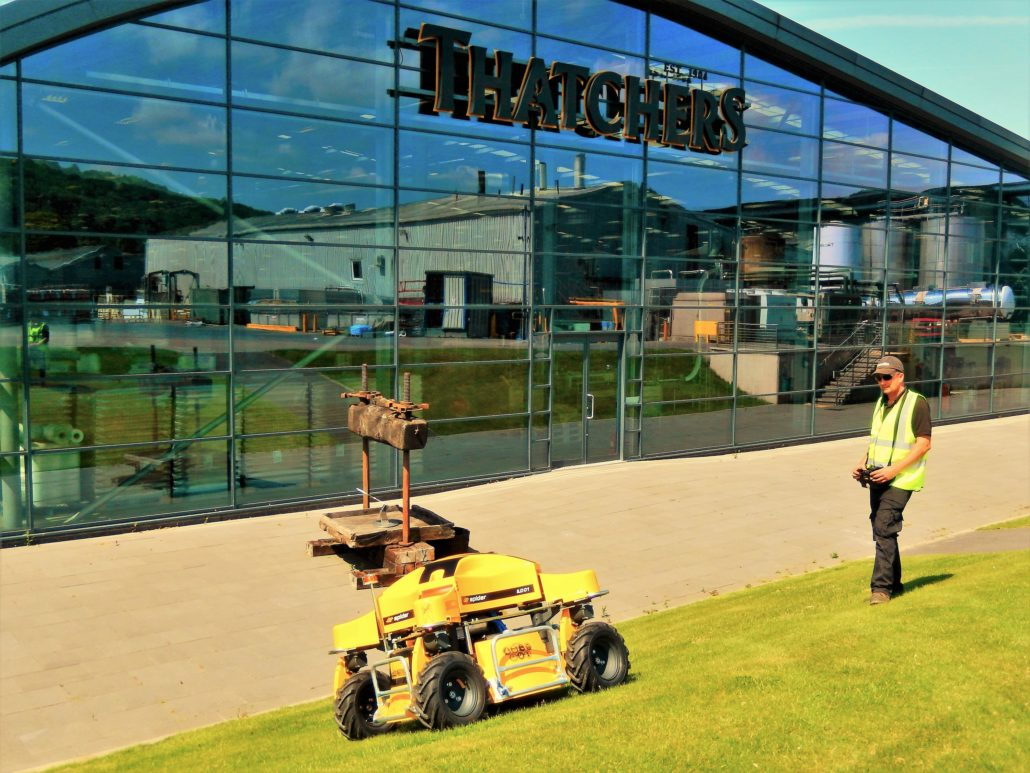 Thatchers Purchase Spider Mower