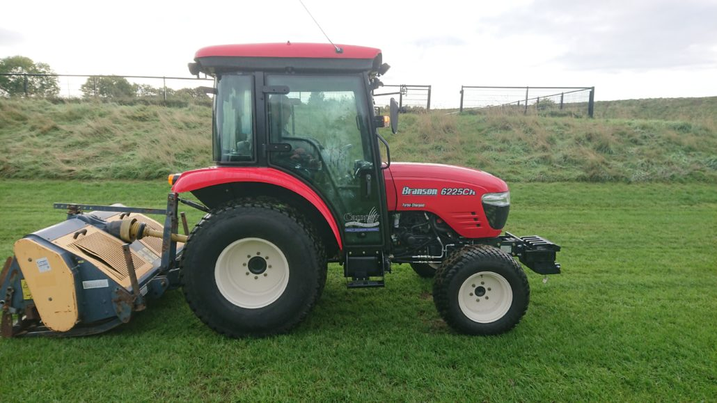 Trubshaw Cross Praise New Tractor