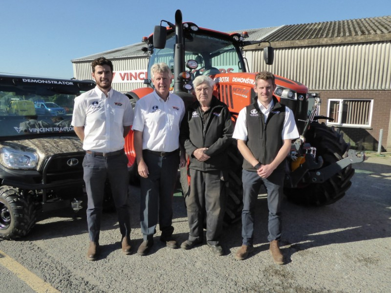 Vincent Tractors Expand Into Devon