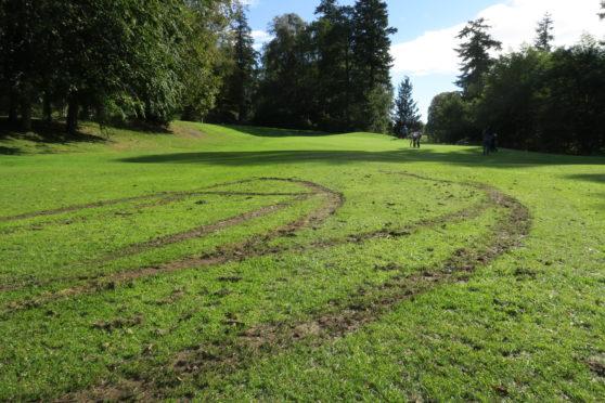 'Augusta of the North' Vandalised