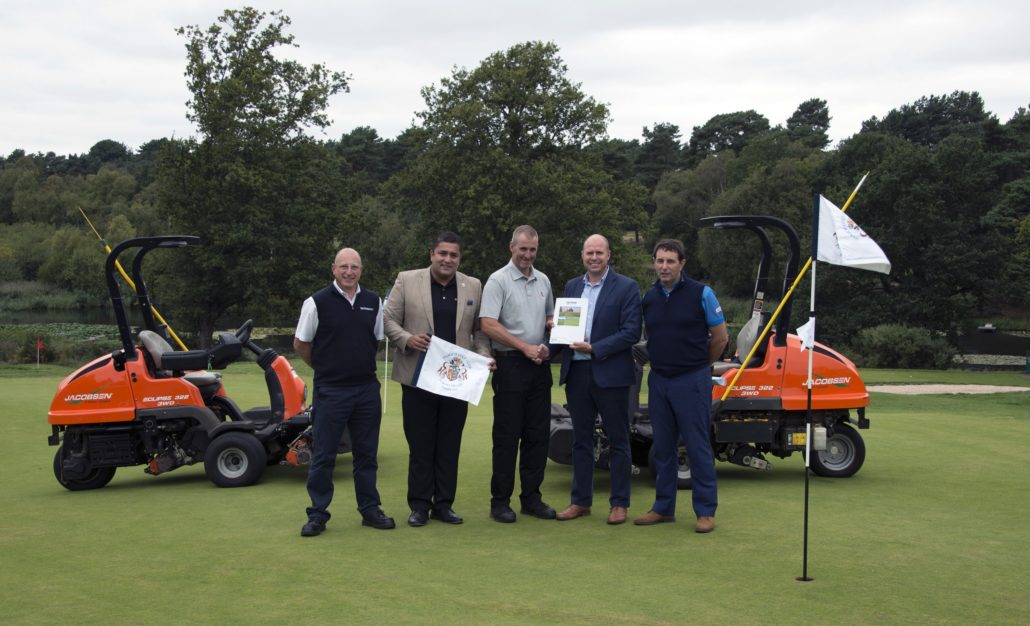 Ransomes Jacobsen At Ipswich GC