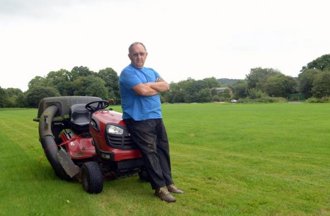 Anger After Mower Theft