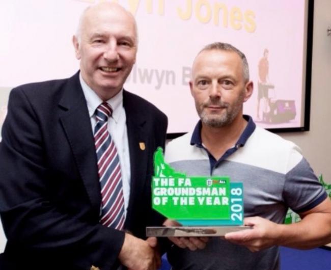 Colwyn Bay Groundsman Praised