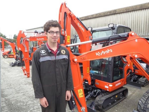 Duchy College Student Joins Vincent Tractors & Plant
