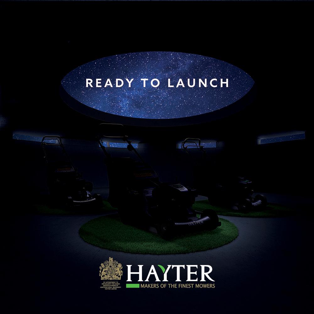 New Hayter Products At SALTEX