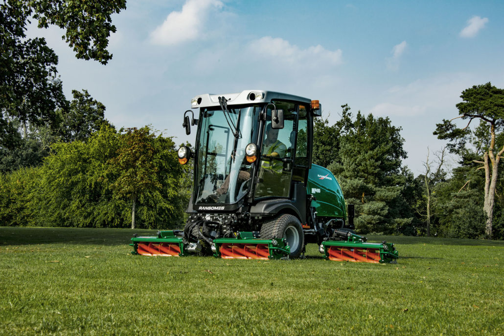Ransomes Turf Solutions At SALTEX