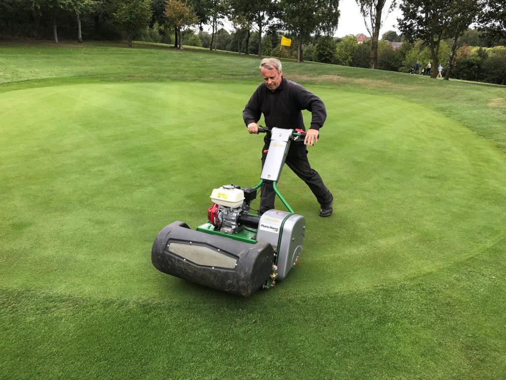 Dennis Razor Improves Greens At Mapperley