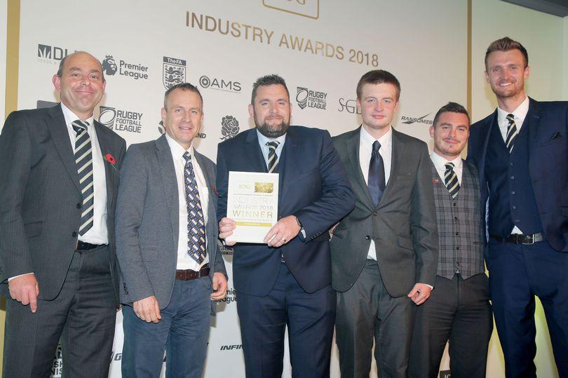 Industry Award For Edgbaston