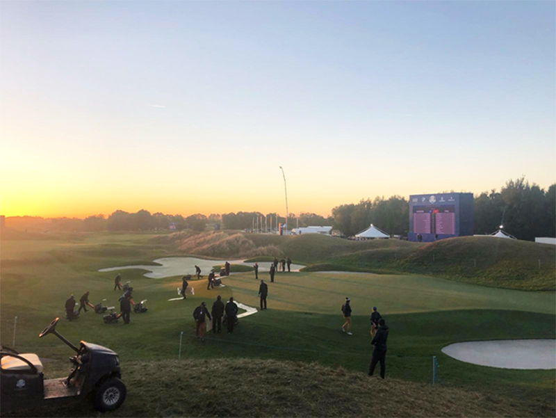 Greenkeepers' Acclaim For Meeting Ryder Cup Challenge