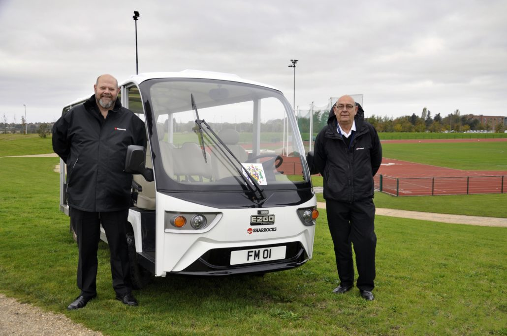 E-Z-GO 14-Seater At Edge Hill University