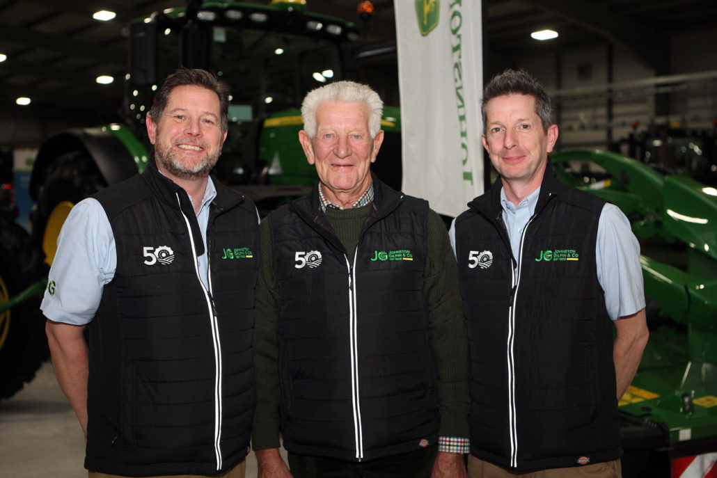 50 Year Milestone For Johnston Gilpin