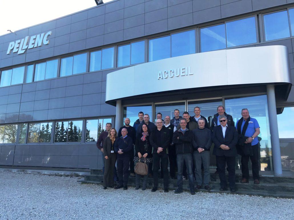 Factory Visit For Pellenc Dealers