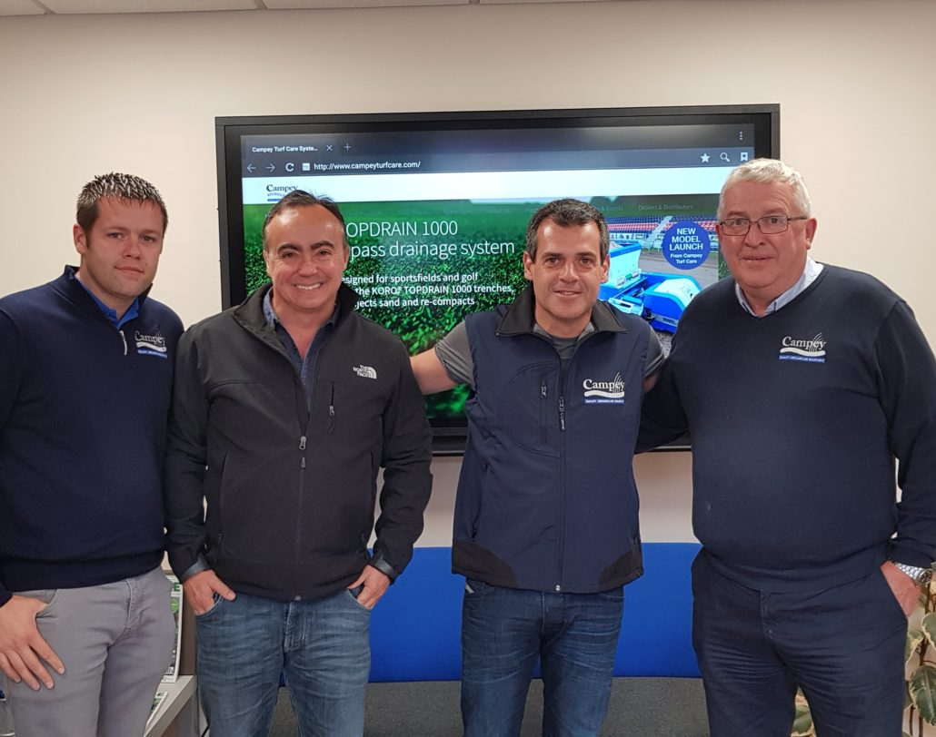 Campey Appoint New Dealers