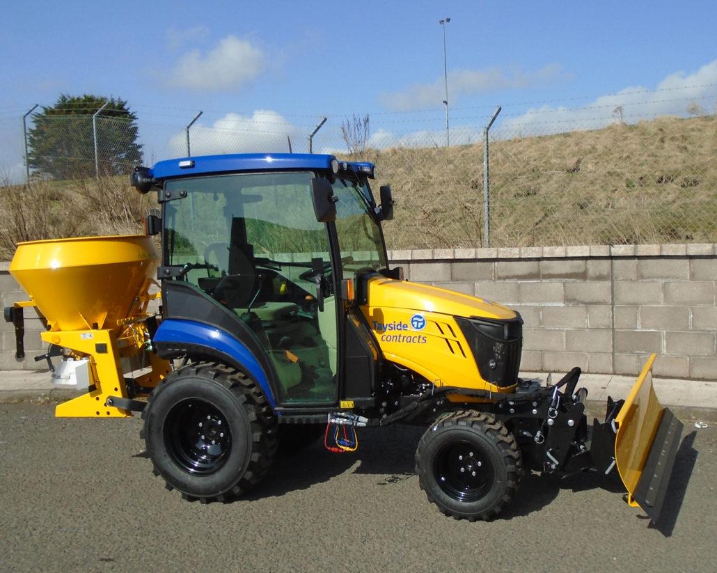 Compact Tractors Combat The Cold
