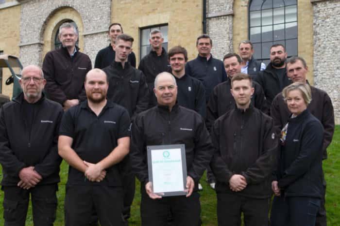 Greenkeeping Team Rewarded