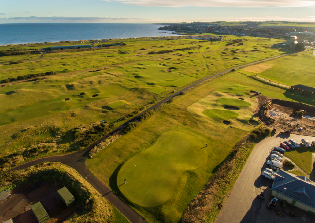 St Andrews Unveil New Short Game Area