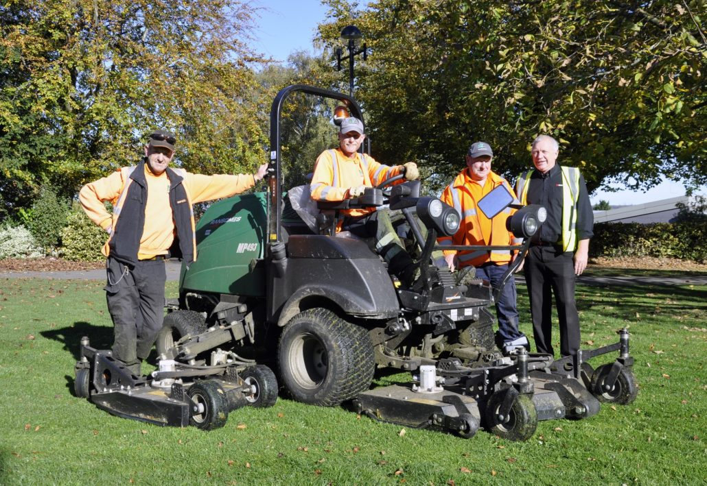 Amber Valley Continue Ransomes Relationship