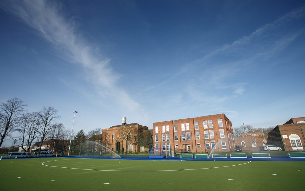 Manchester Grammar School's New Hockey Surface