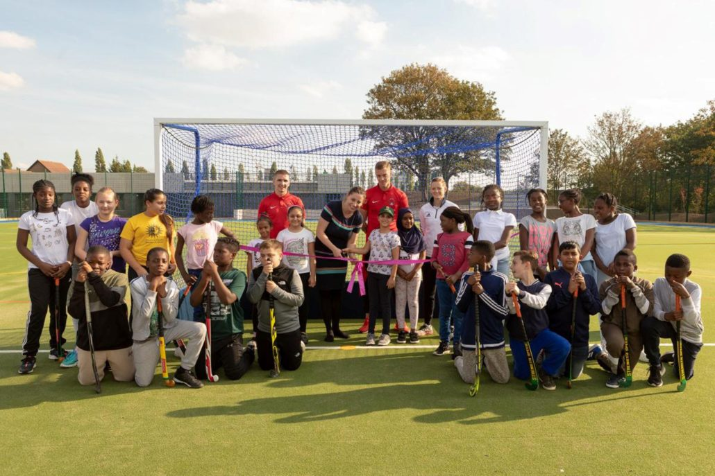 Olympic & Orient Welcome For New Sports Centre