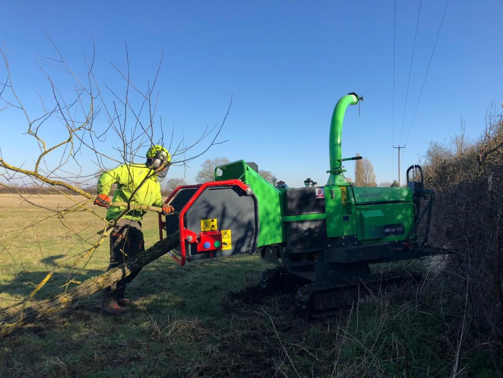 Powerline Services Purchase GreenMech Chippers
