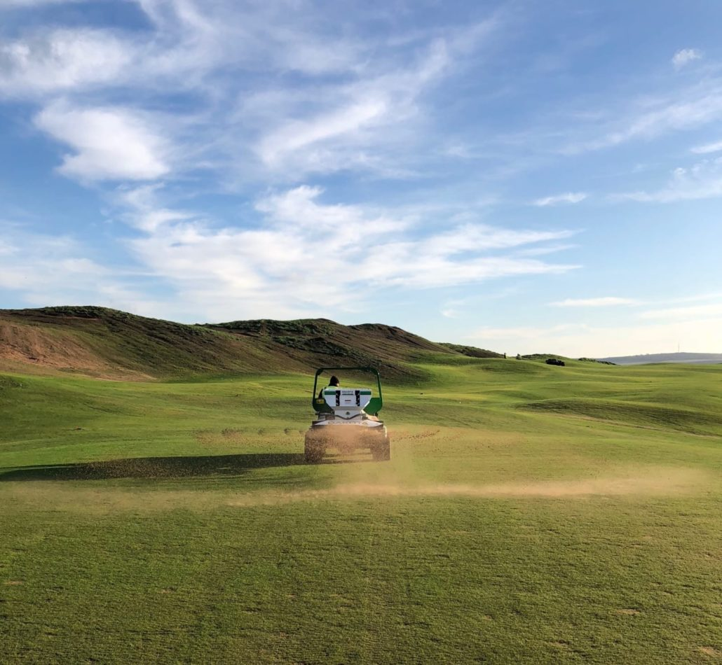 John Deere Key At Dumbarnie Links