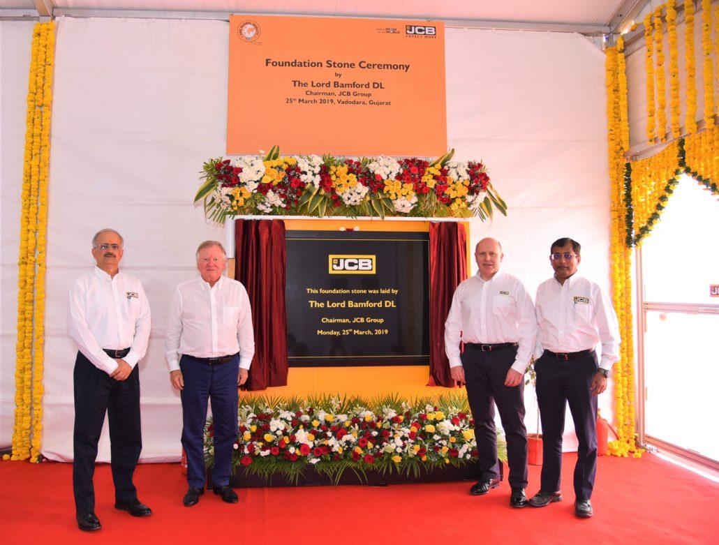 JCB Unveil New Factory Plans