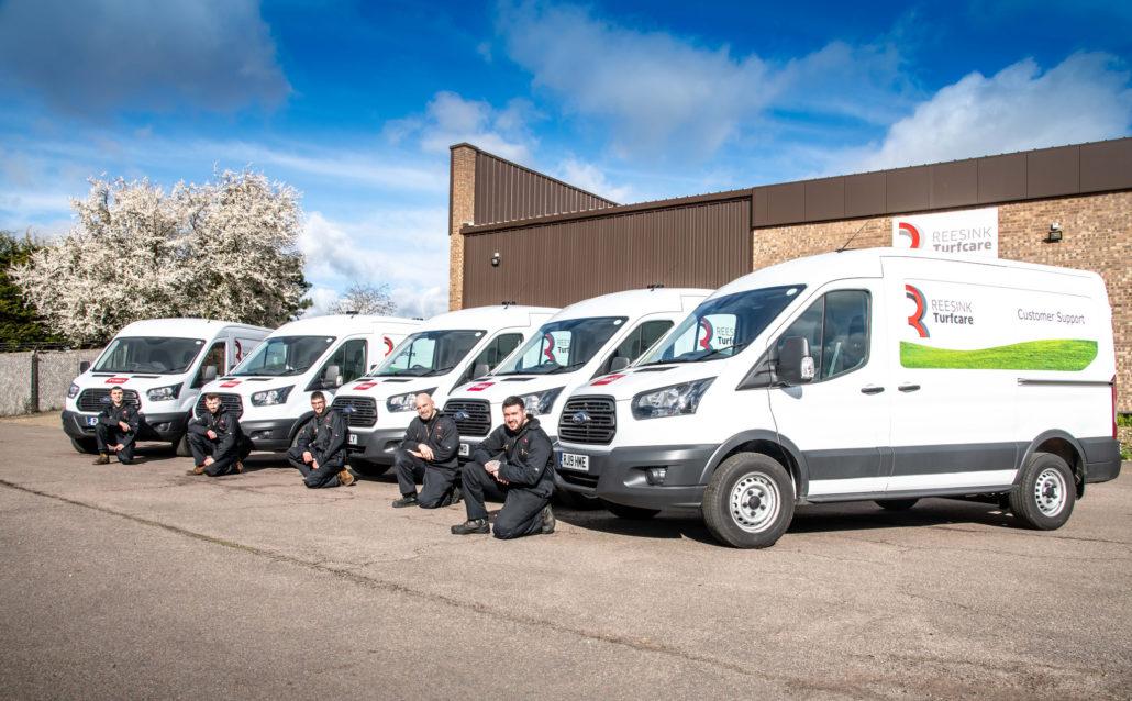 Reesink's New Fleet Of Vans