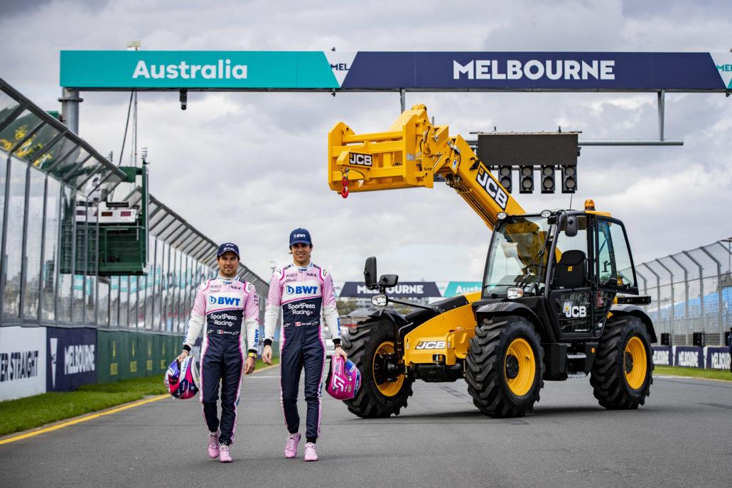 JCB Prepare For F1 Opener