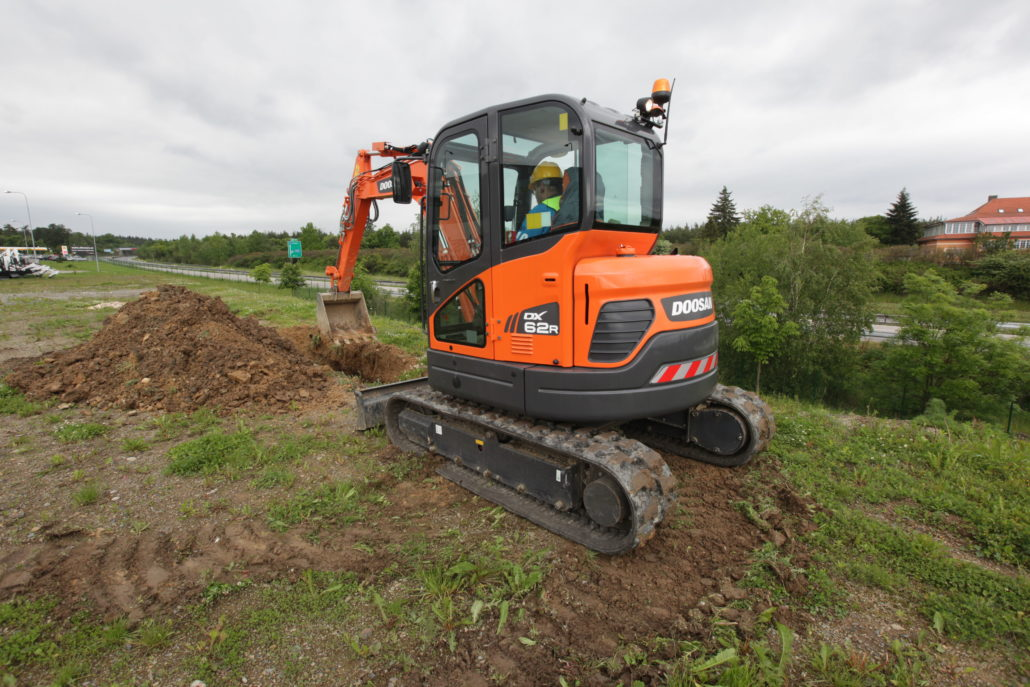 Doosan Launch New Mini-Excavators