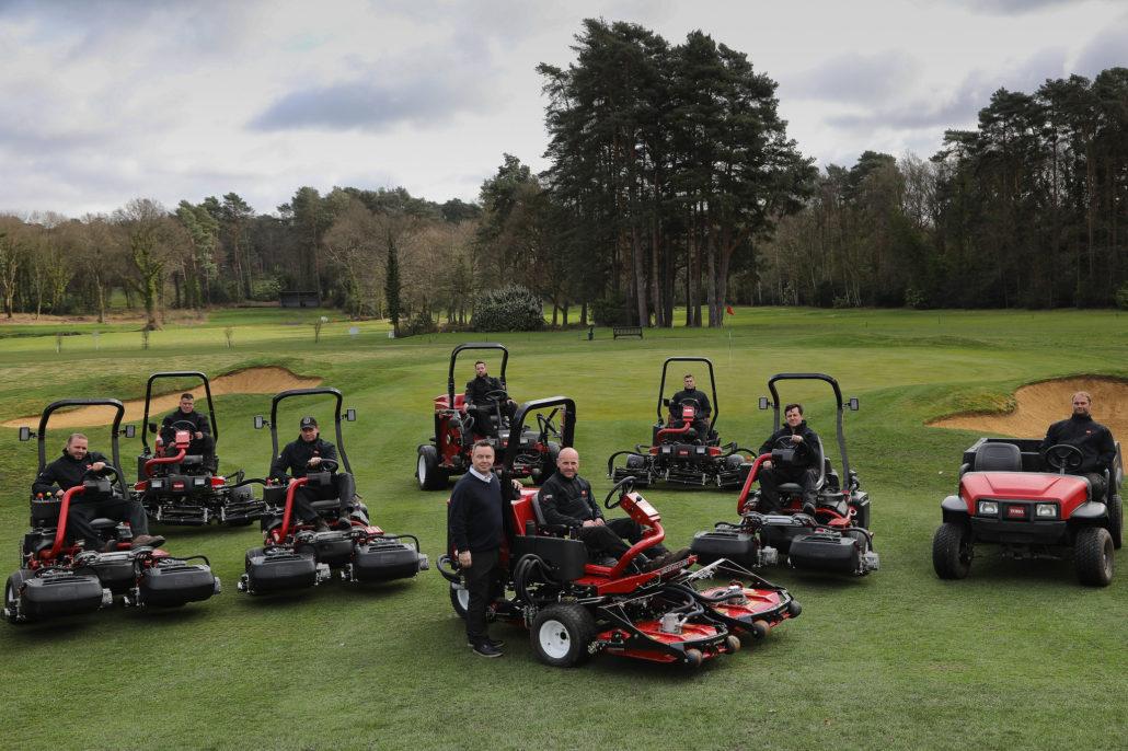 Golf Club Signs Toro Agreement