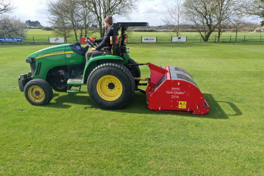 Parkers Pitches' New Verti-Quake