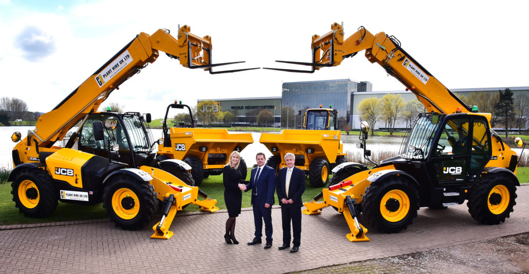 JCB Secure Plant Hire Deal