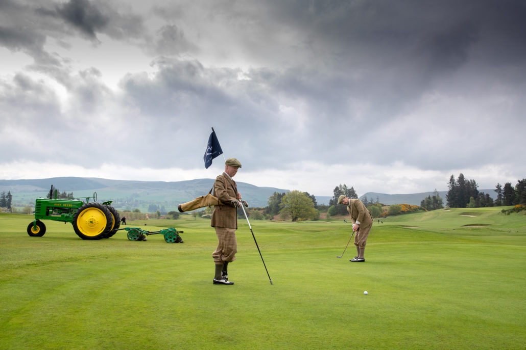 Century Up At Gleneagles