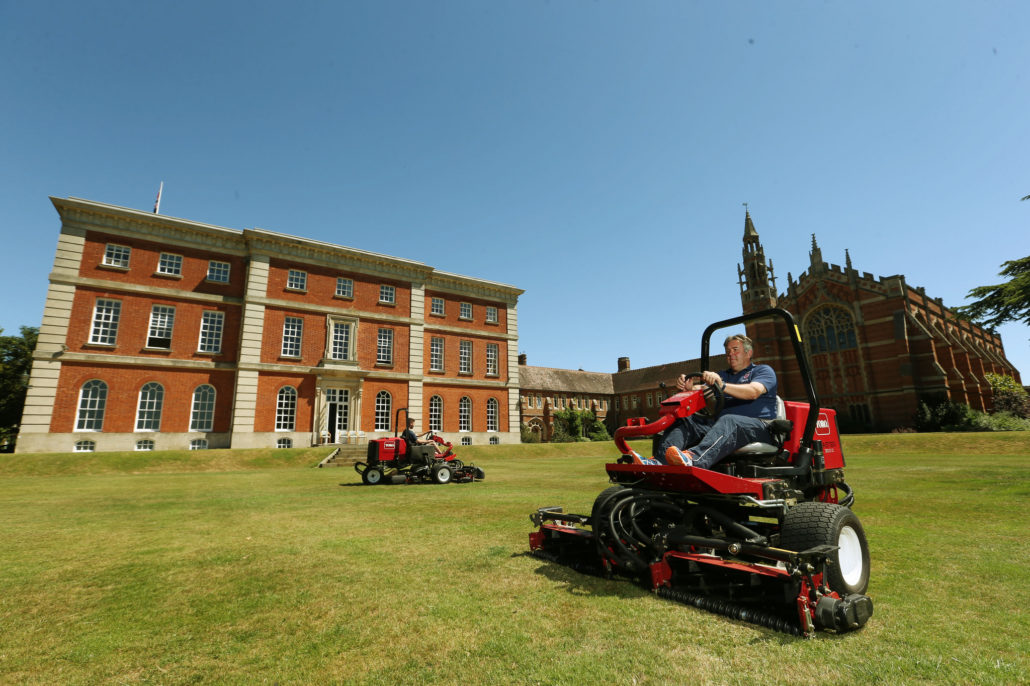 Toro A Hit At Radley College