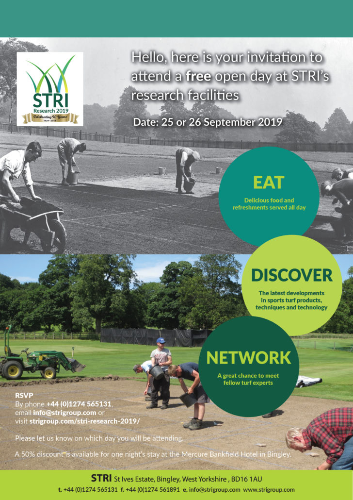 STRI Group Announce Open Day