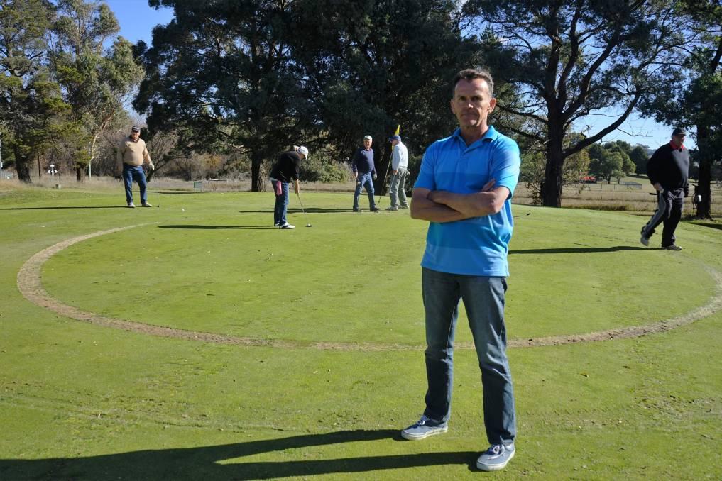 Police Hunt For Golf Vandals